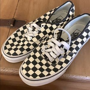 Checkered Vans Gold Coast Authentic